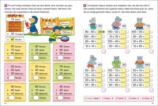 fragenb228r lernhefte 1 klasse rechnen bis 20